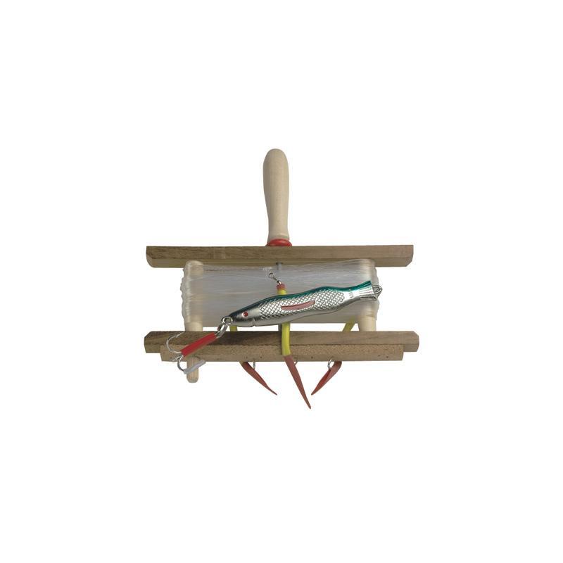 Sølvkroken tryllejuksa Harpe m/gummimakk og 400g sølvpilk