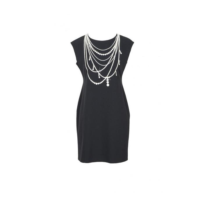 Boutique Moschino Women's Dress Black 171596 - black 38