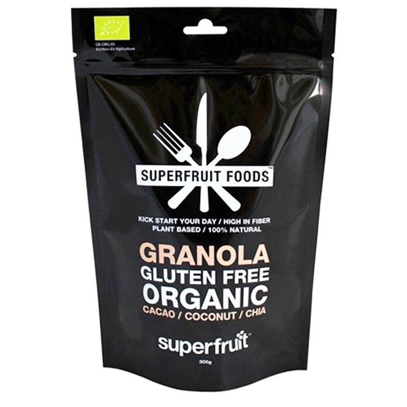 """Luomu Granola """"Cacao Coconut & Chia"""" 300g - 50% alennus"""