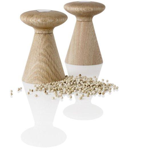 Stelton Forest Salt och Pepparkvarn Set Ek
