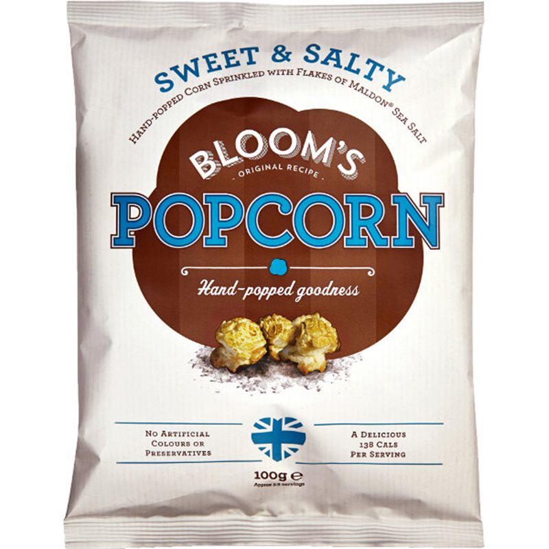 "Popcorn ""Sweet & Salty"" 100g - 60% rabatt"