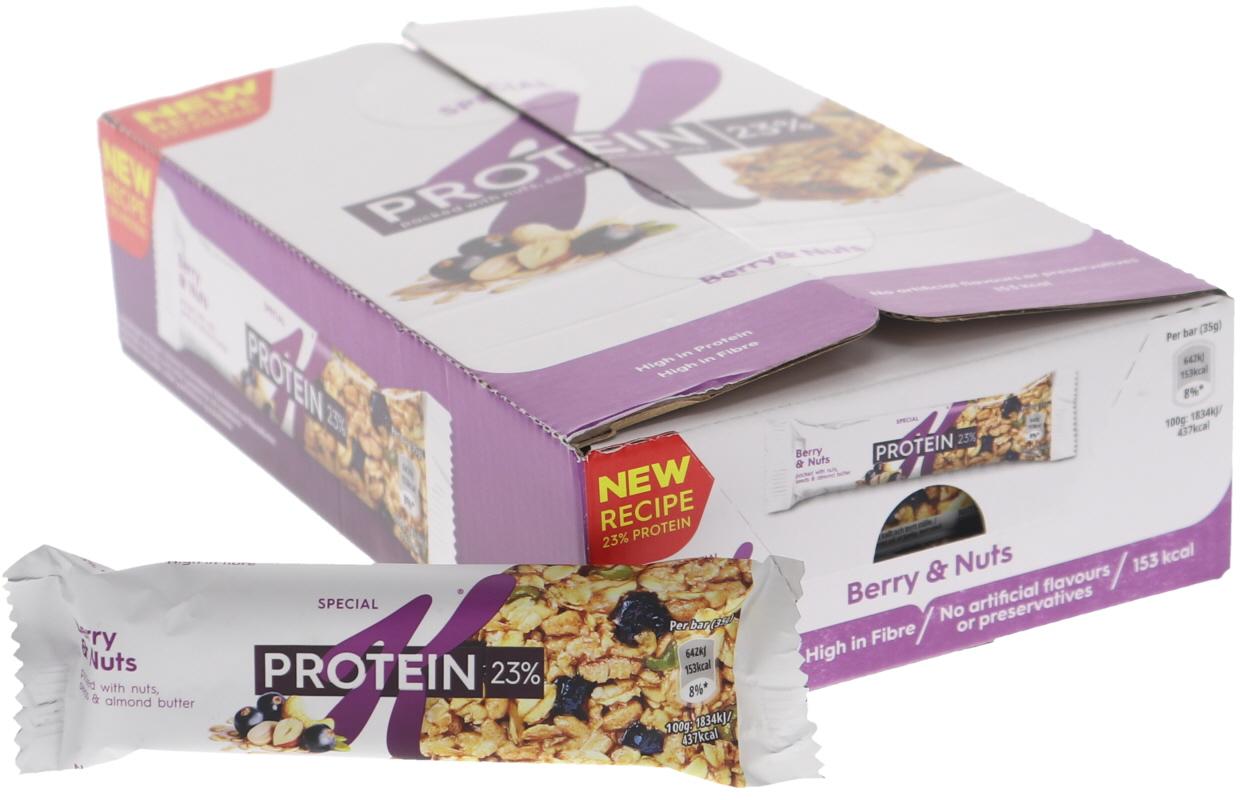 Proteinbars Svarta Vinbär 18-pack - 35% rabatt