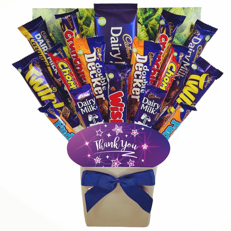 The Thank You Cadbury Chocolate Bouquet