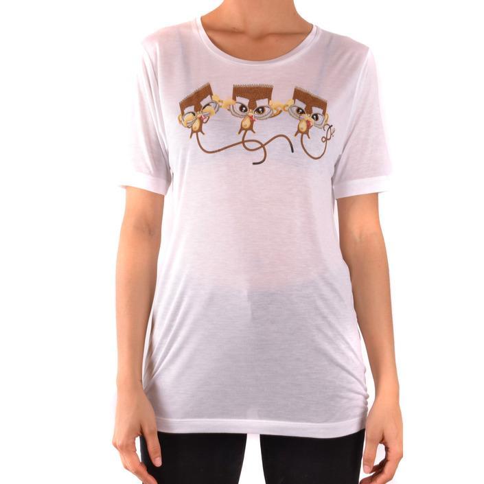 Dsquared Women's T-Shirt White 167594 - white M