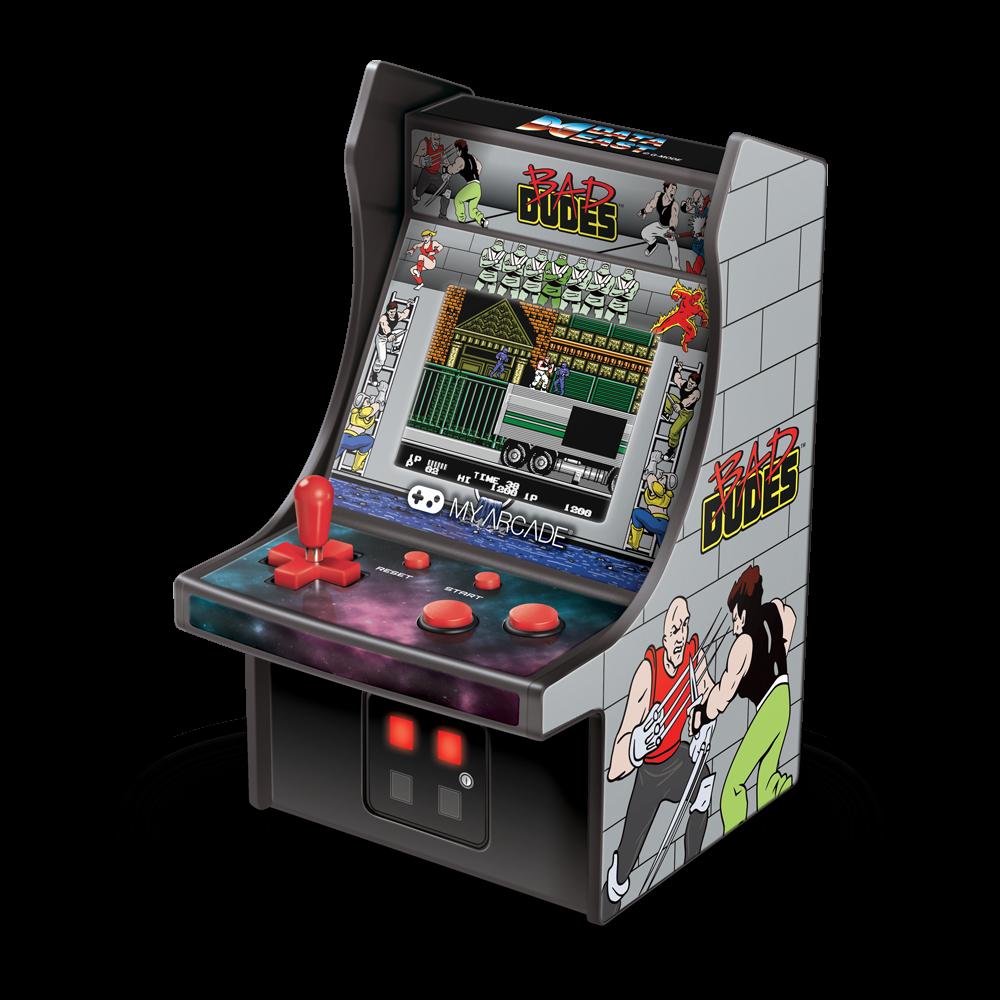 Micro Player Bad Dudes Retro