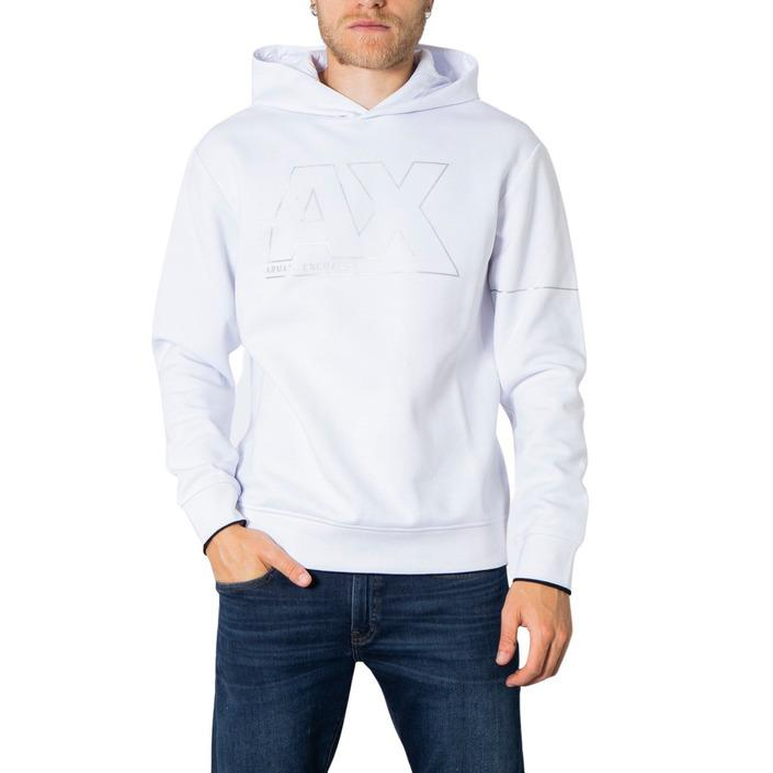 Armani Exchange Men's Sweatshirt Various Colours 273244 - white XS