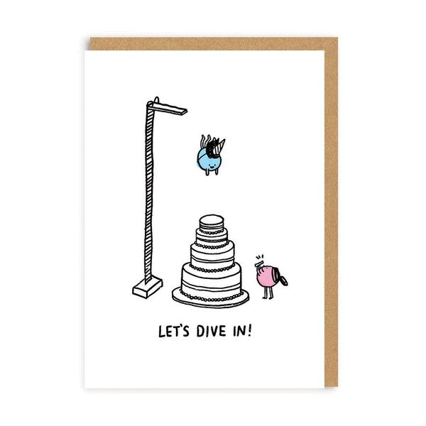 Let's Dive In! Greeting Card