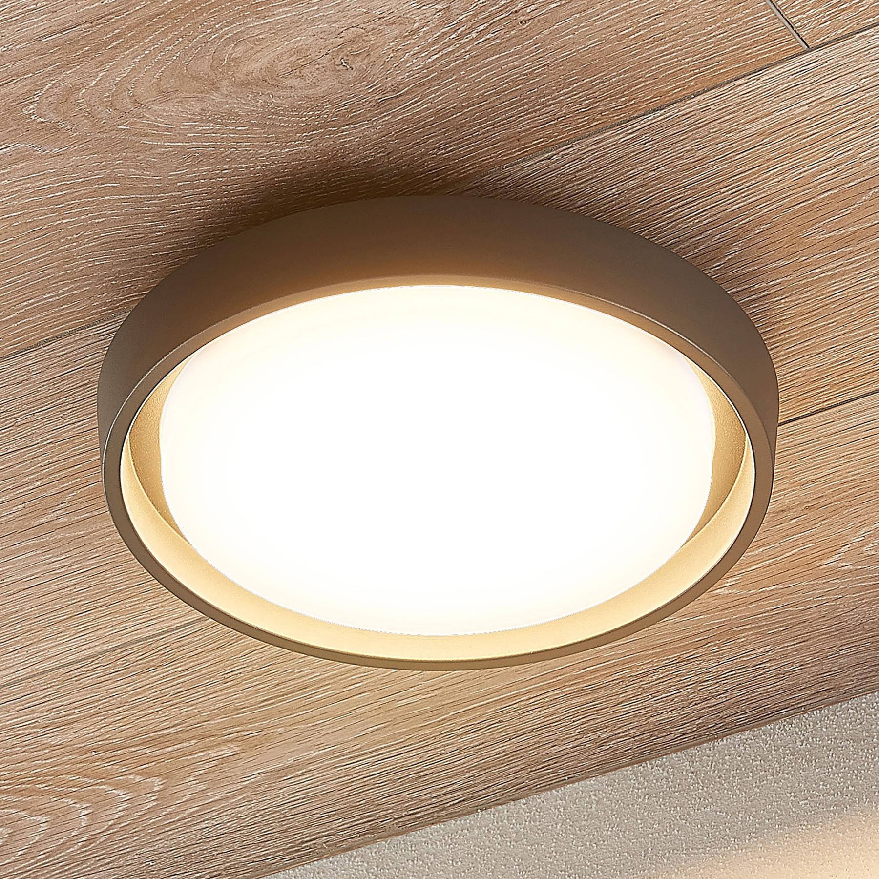 LED-ulkokattovalaisin Birta, pyöreä, 27 cm