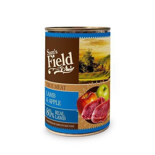 Sam's Field Lamb & Apple 400 g