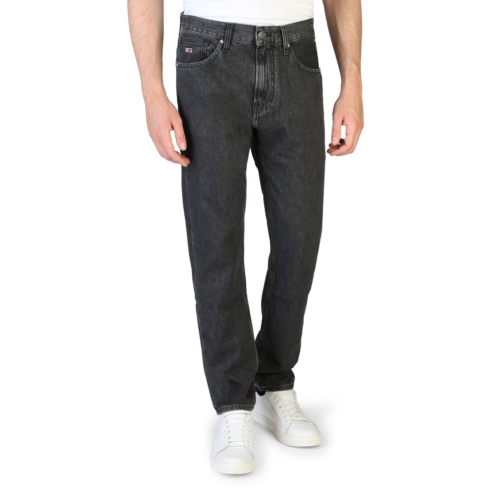 Tommy Hilfiger Men's Jeans Black DM0DM07056 - black-1 38