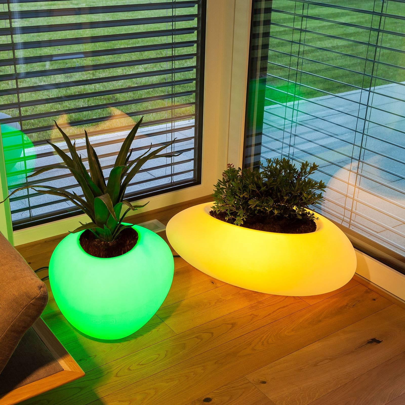 Koristevalaisin Storus VI LED RGBW, kasviastia