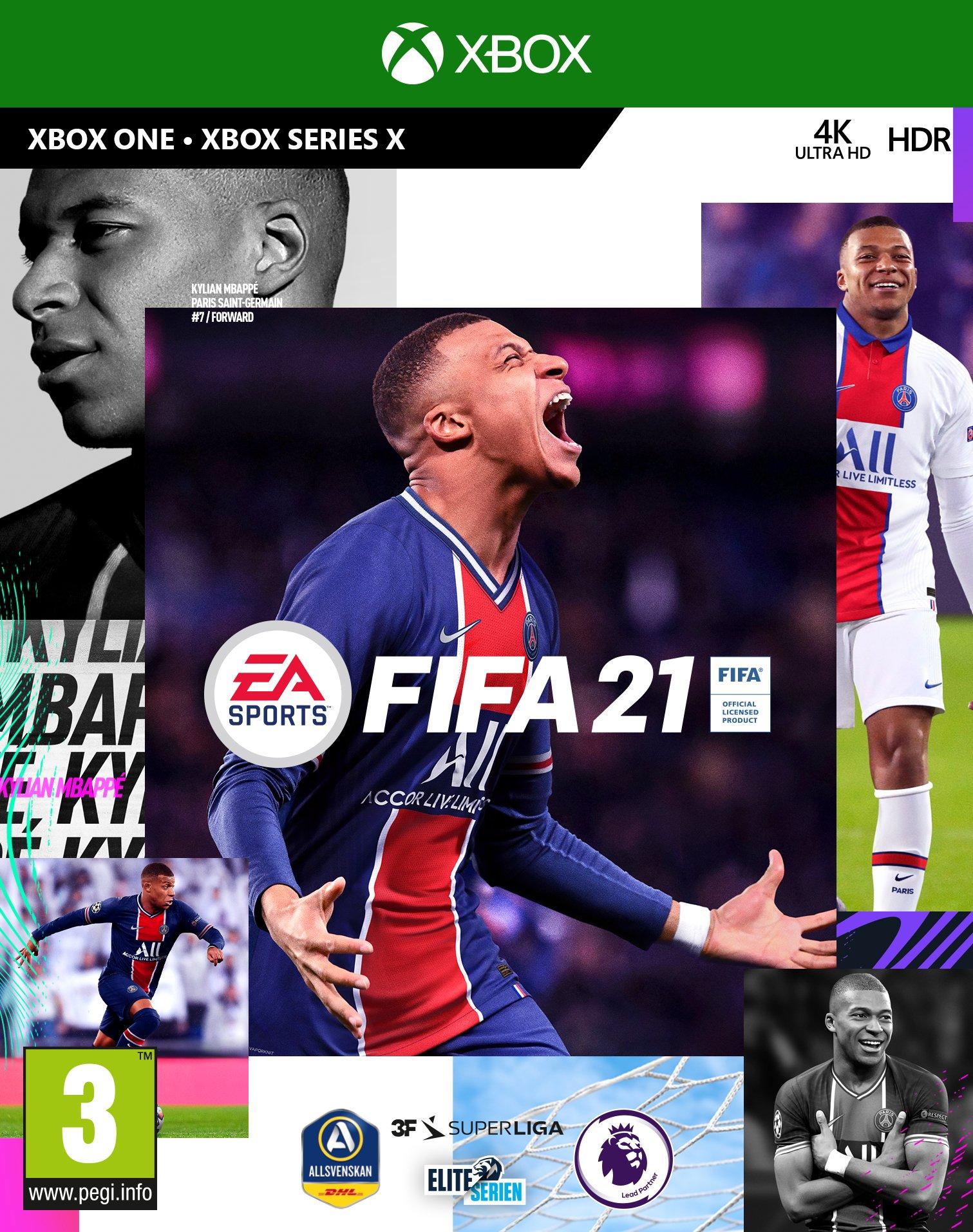 FIFA 21 (Nordic) - Includes XBOX Series X Version