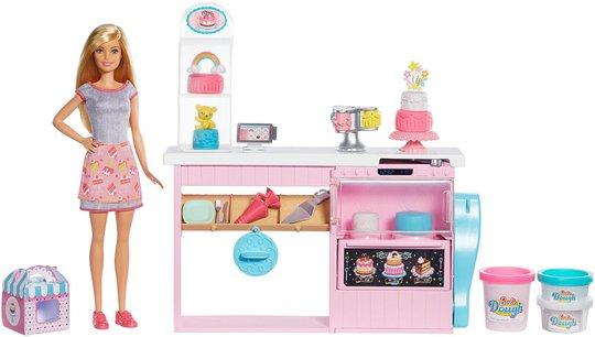 Barbie Cake Bakery Lekesett Dukke