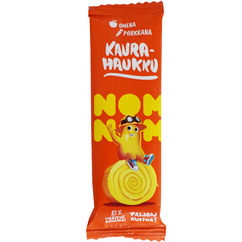 Kaurapatukka Omena & Porkkana - 23% alennus