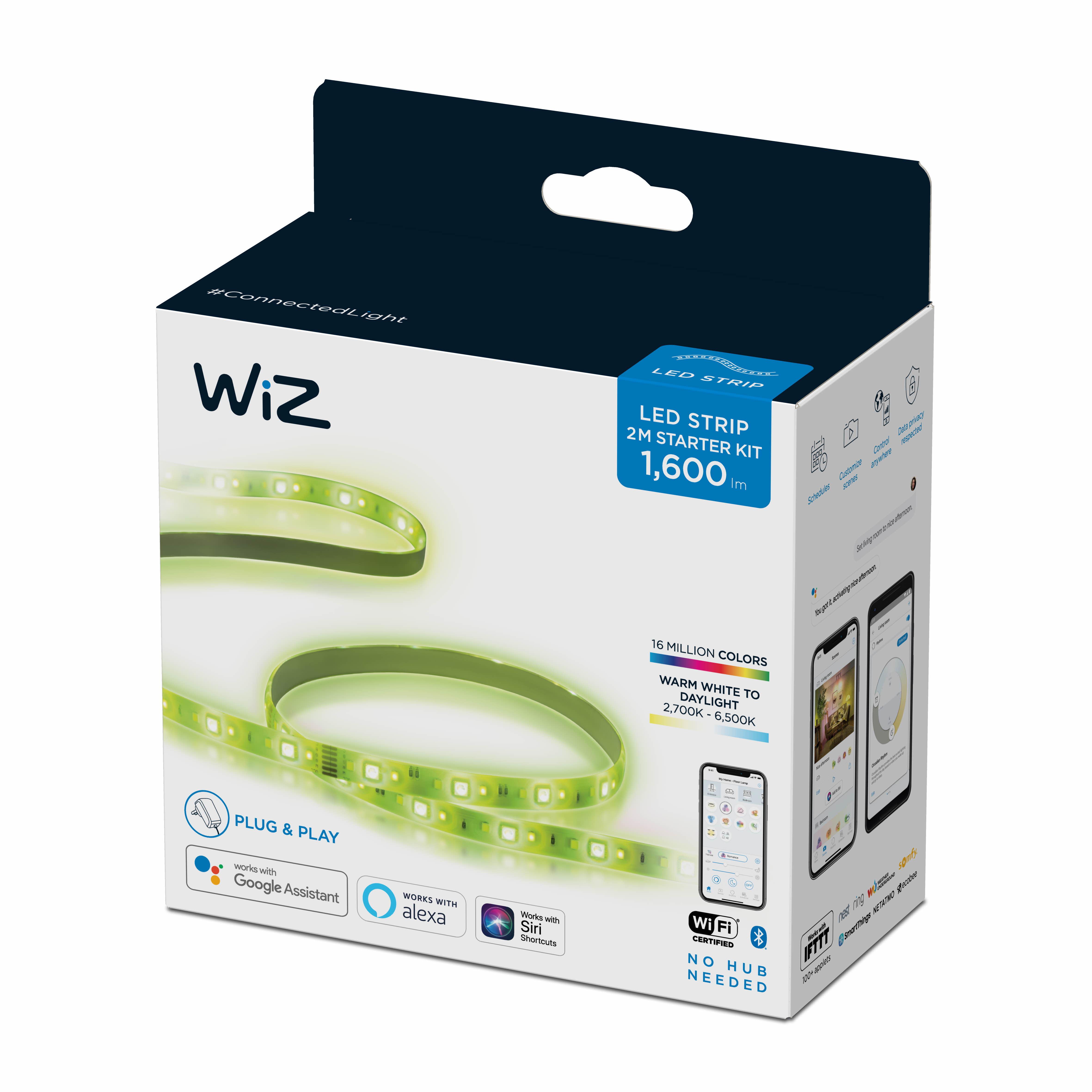 WiZ -Wi-Fi LEDStrip 2M 1600lm StarterKit