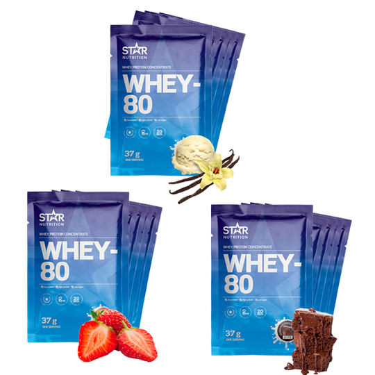 15 x Whey-80 One Serving, 37 g