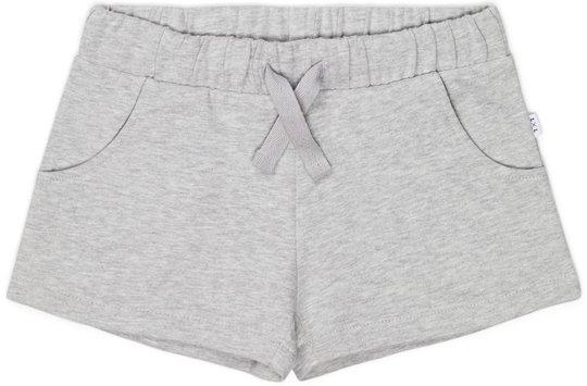 Luca & Lola Isola Shorts, Grey Melange 86-92