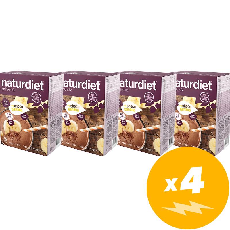 Drinkmix Choklad & Banan 4-pack - 47% rabatt