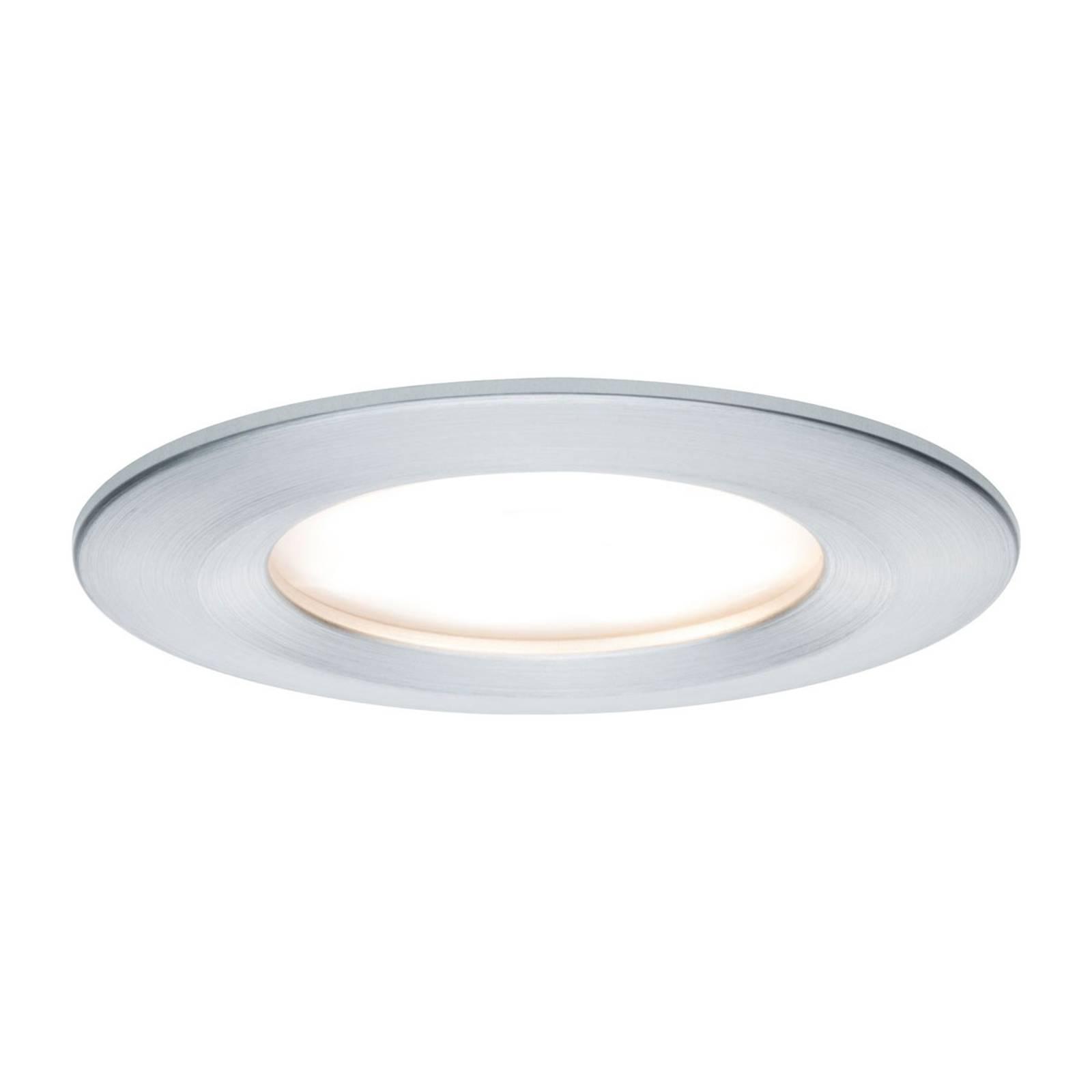 Paulmann LED-spotti Nova Coin pyöreä, alumiini