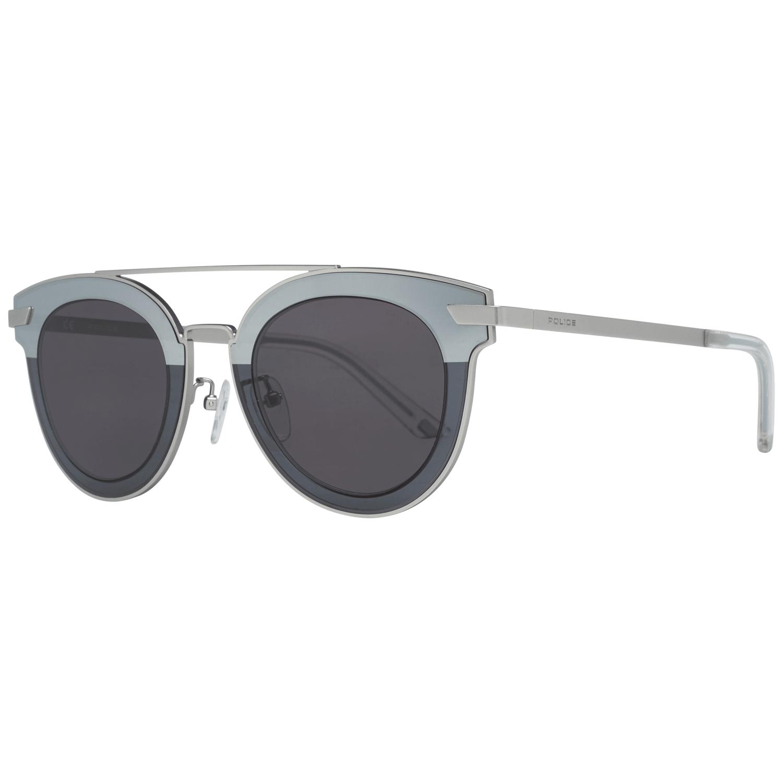 Police Men's Sunglasses Silver SPL349 470581