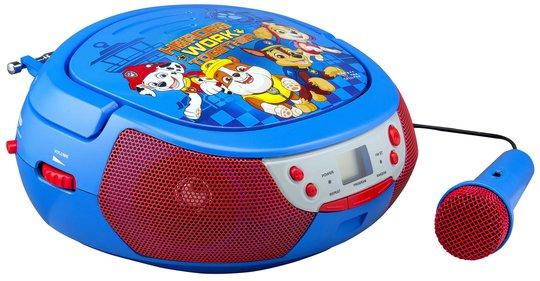 Paw Patrol CD Boombox Karaokemaskin