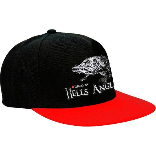 Dragon Snap Back Hells Anglers gädda keps