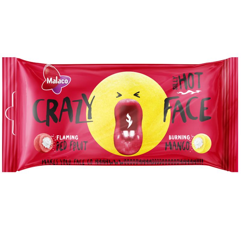 Malaco Crazy Face Hot 60g - 71% alennus