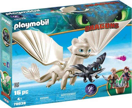 Playmobil 70038 Vitfasa Og Drageunge Med Barn