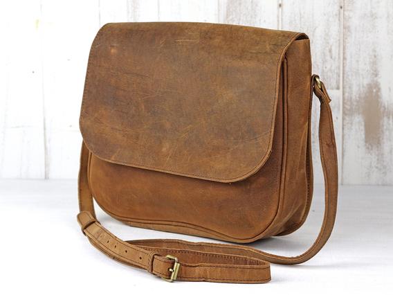 The Ella Saddle Bag Brown