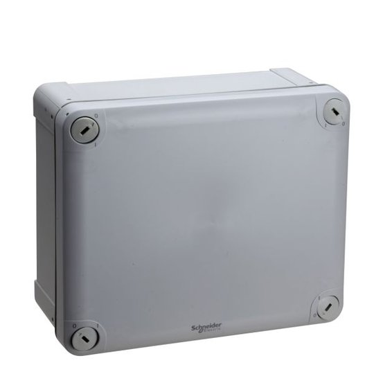 Schneider Electric ENN05050 Kytkentärasia harmaa, sileä, pinta-asennus 175x150x80 mm