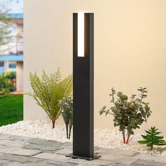 Lucande Virgalia -LED-pylväsvalaisin, 65 cm
