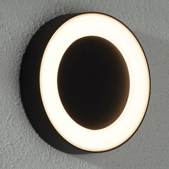 LED-ulkoseinävalaisin Teton metallia IP54