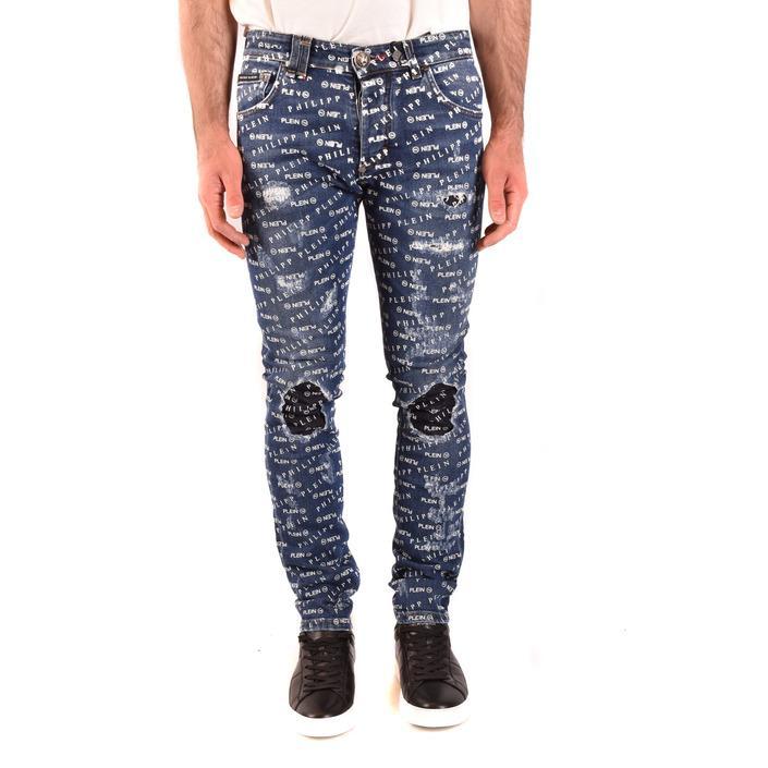 Philipp Plein Men's Jeans Blue 203277 - blue 30
