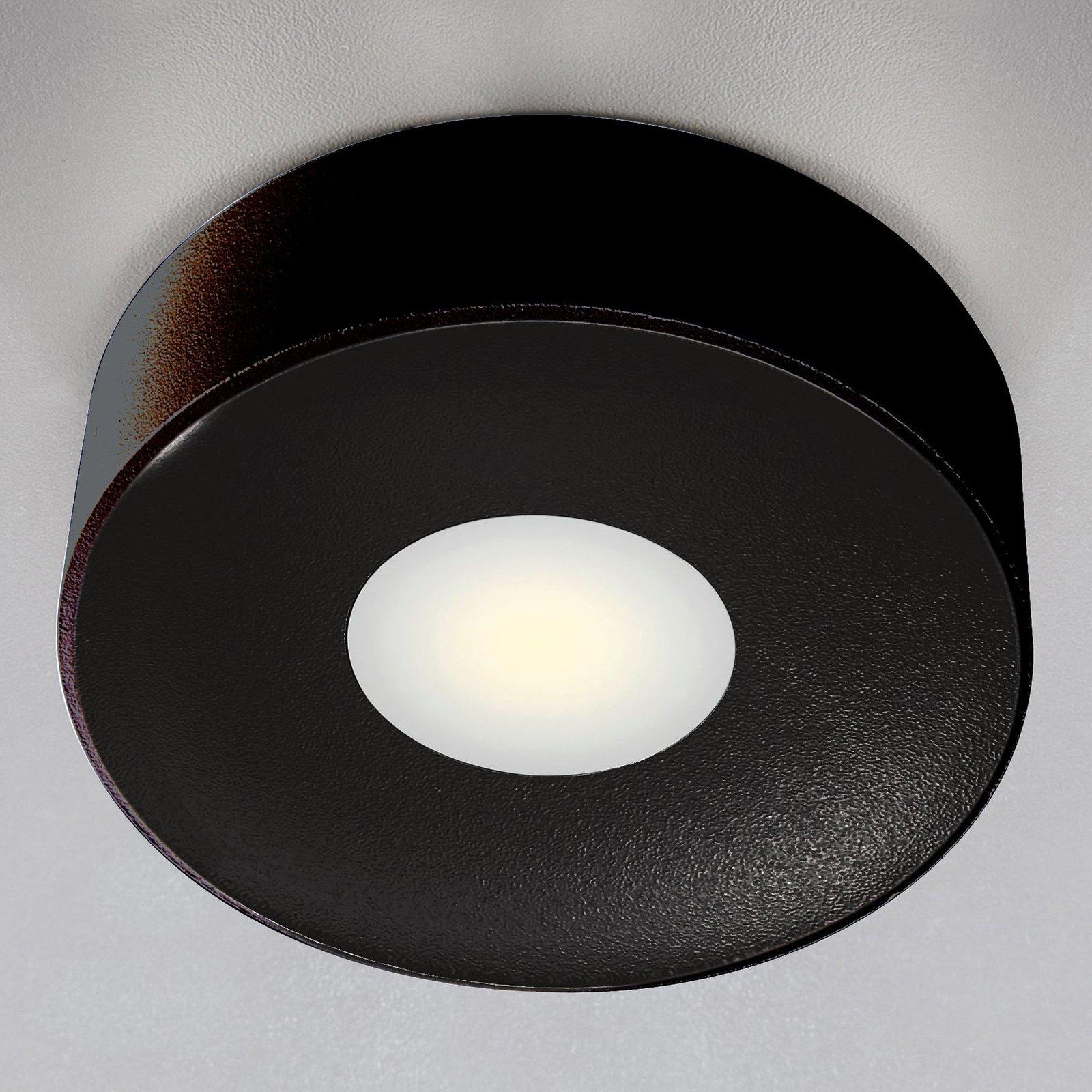 Utendørs LED-taklampe Girona, antrasitt