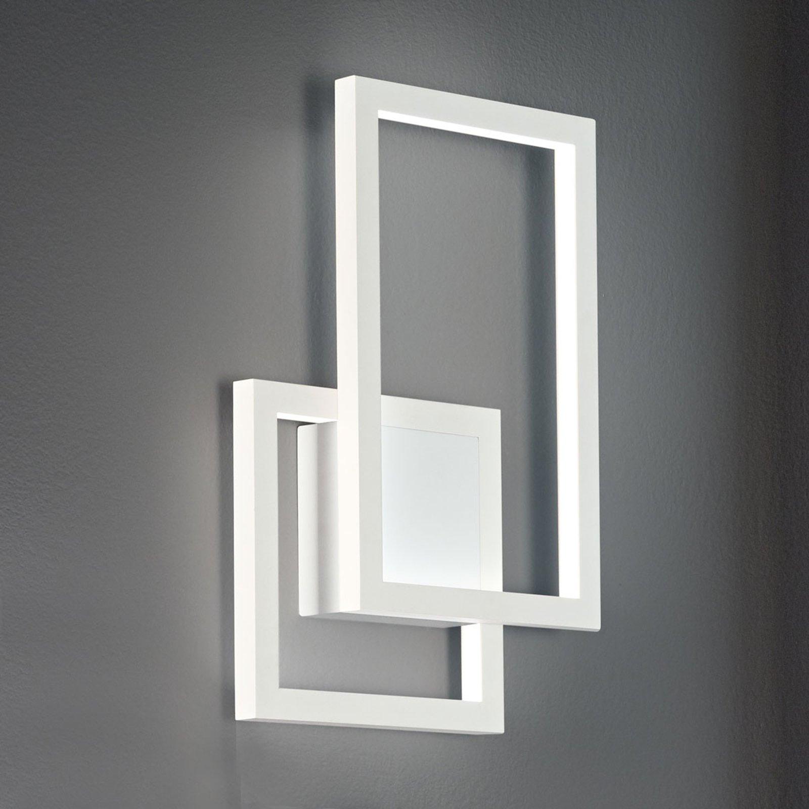 LED-vegglampe Curve av aluminium
