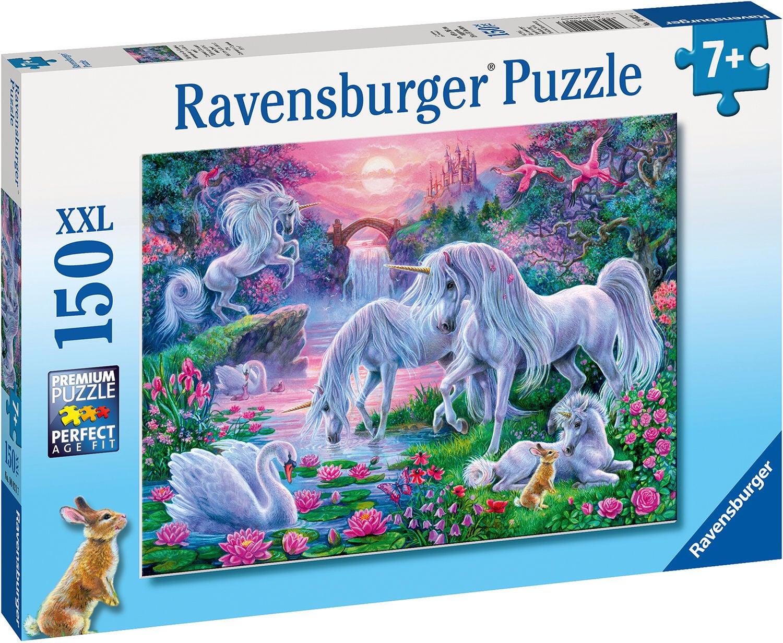 Ravensburger Pussel Enhörning I Soledgång 150 Bitar