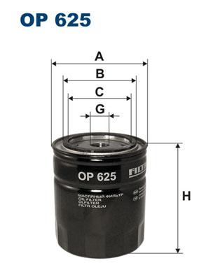Öljynsuodatin FILTRON OP 625