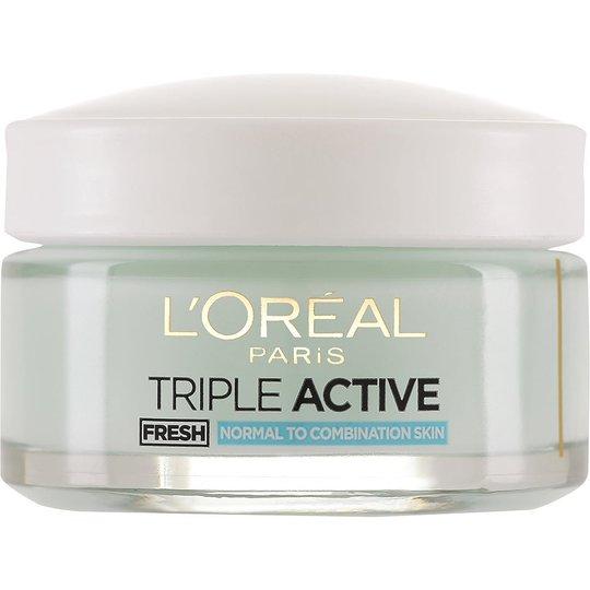 L'Oréal Paris Dermo Expertise Triple Active Fresh Active Moisturising Gel Cream, 50 ml L'Oréal Paris Päivävoiteet
