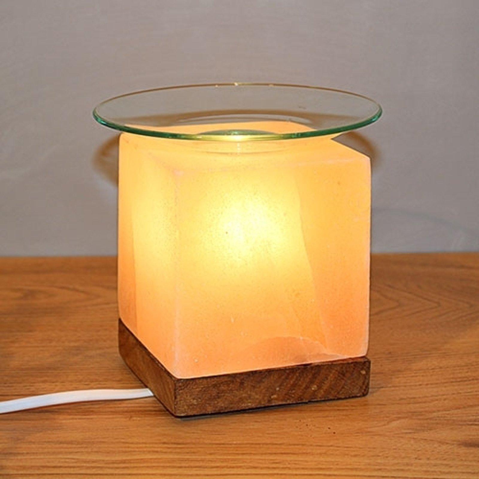 KUBUS - Aromasaltlampe til stemningsfulle stunder
