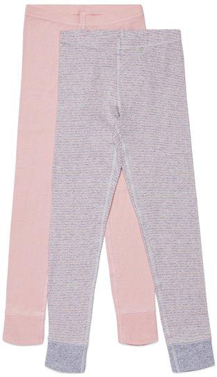 Luca & Lola Toto Stillongs 2-pack, Pink/Stripes 134-140
