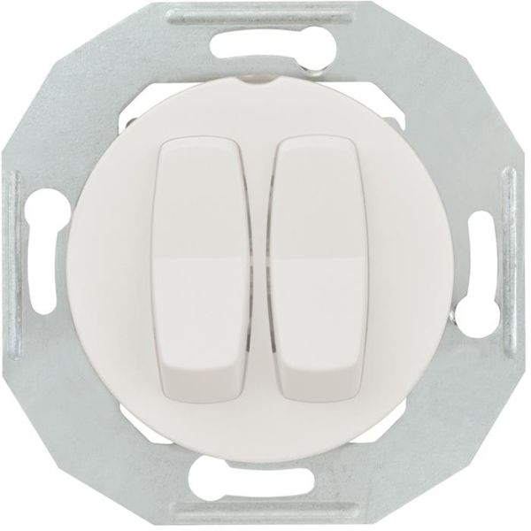Schneider Electric Renova WDE011016 Vippestrømstiller uten ramme, hvit Krone