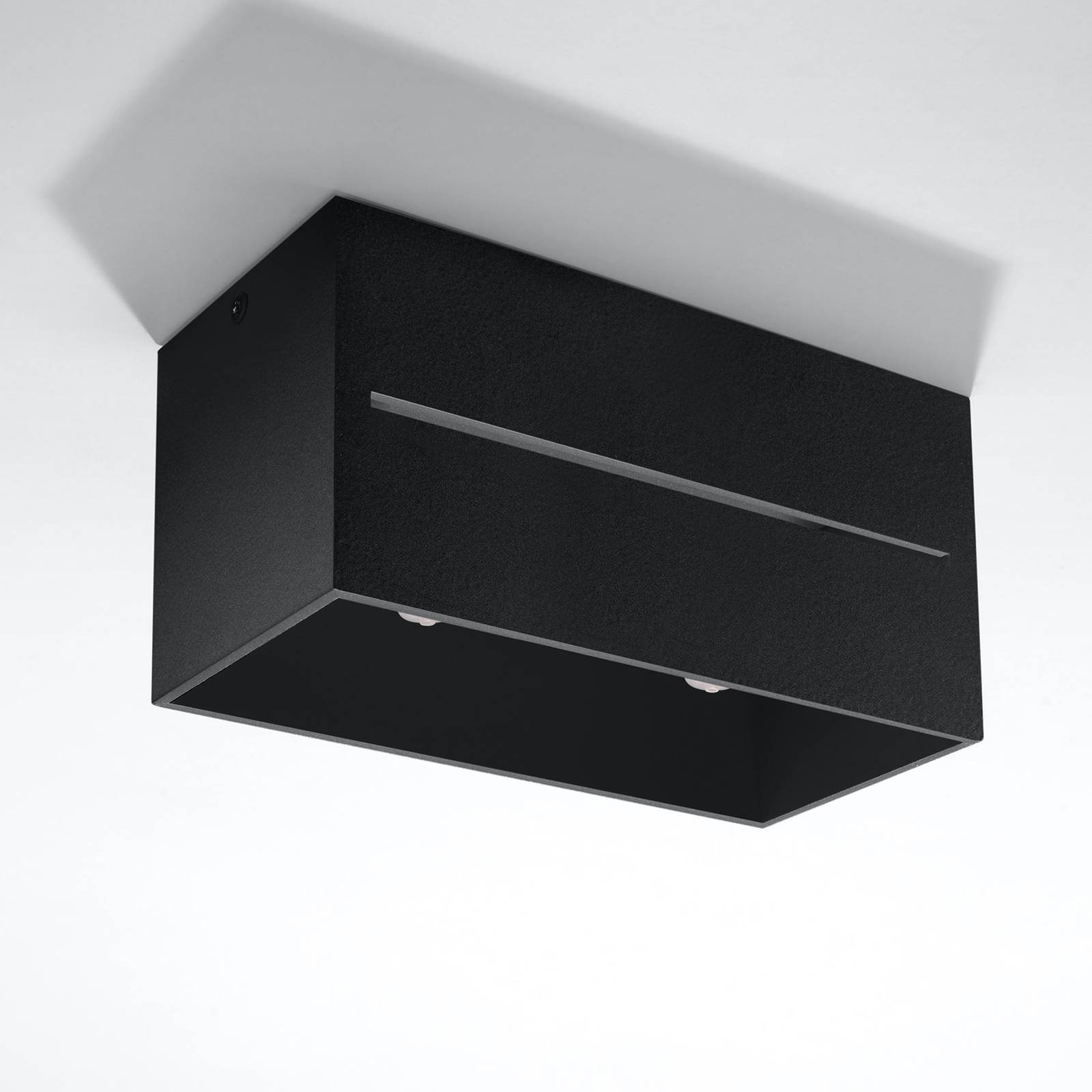 Kattovalaisin Top Maxi alumiinia, musta