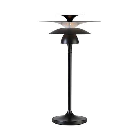Picasso Bordlampe Mattsvart LED 62 x 35 cm