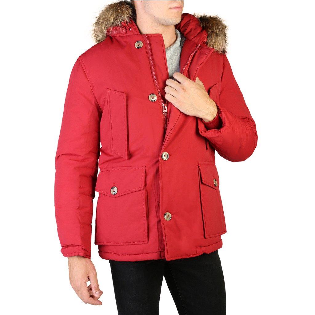 Alessandro Dell'Acqua Men's Jacket Red 348354 - red S