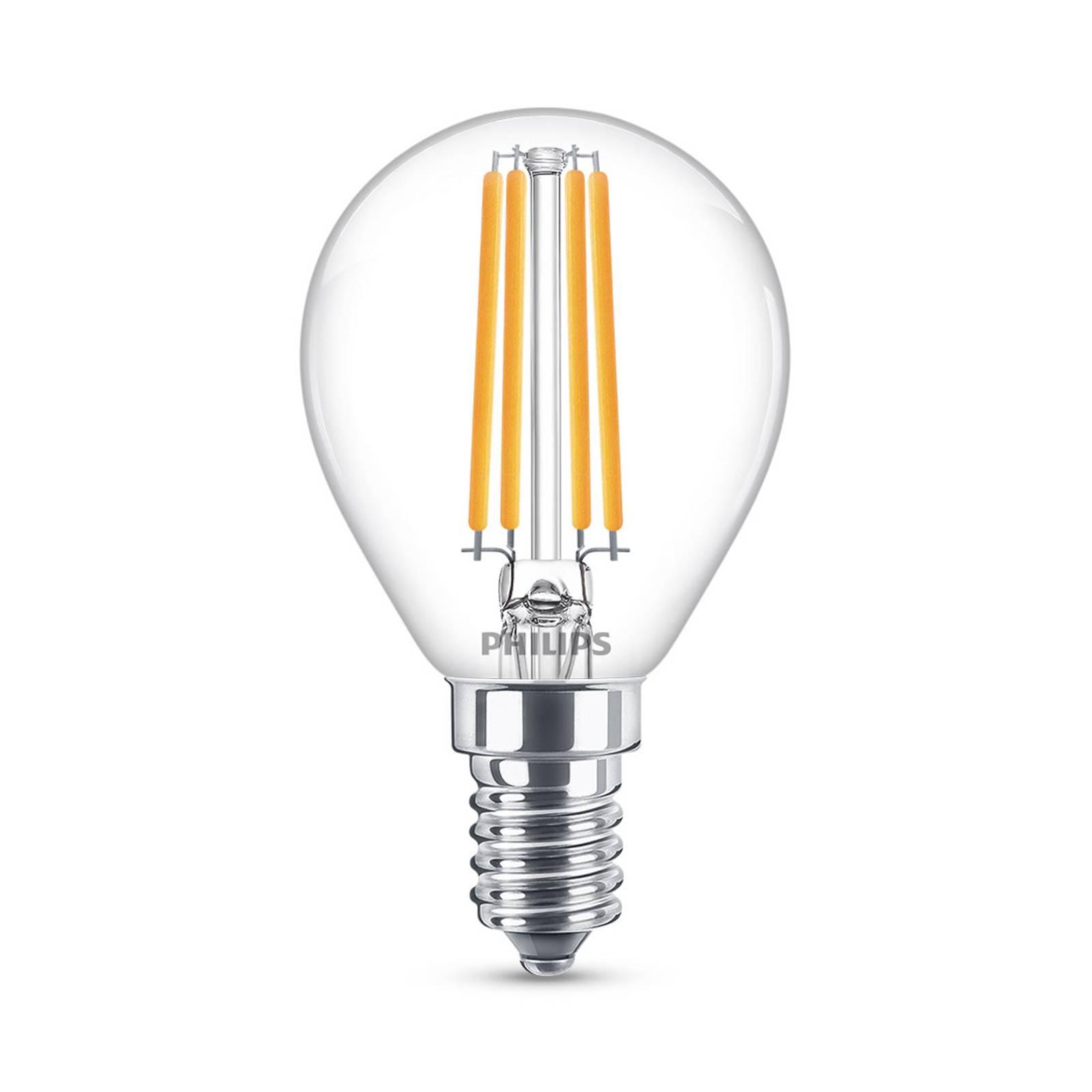 Philips Classic LED-lamppu E14 P45 6,5W 2 700 K