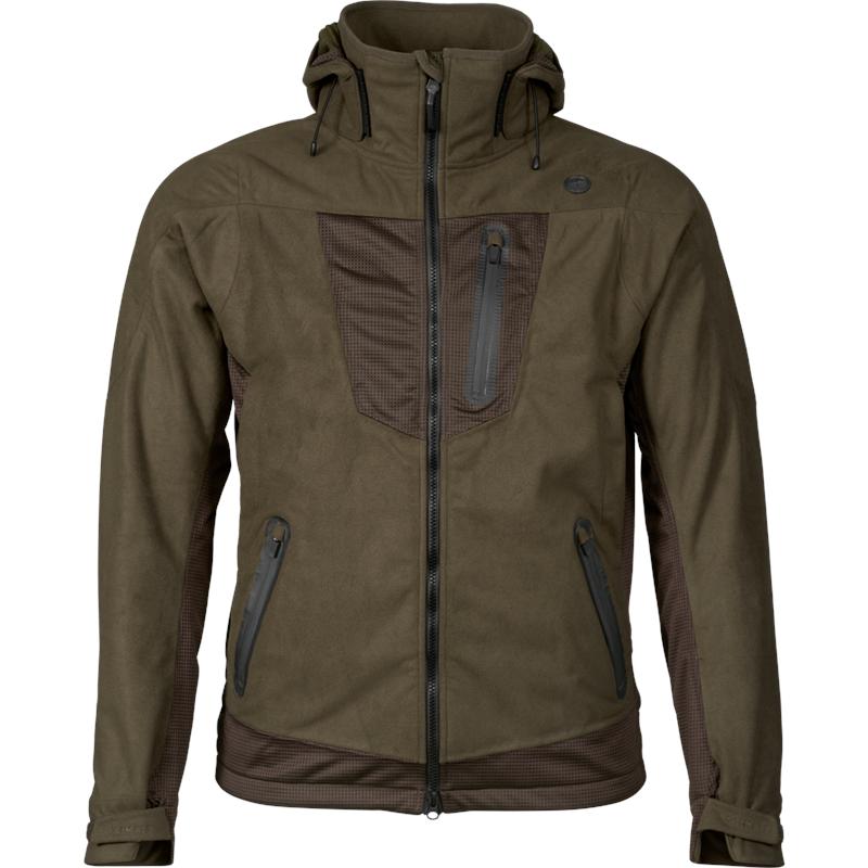 Seeland Climate Hybrid jakke 48 Til høst og vinterjakt, Pine Green