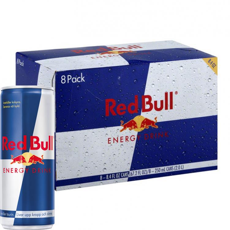 Red Bull 8-pack - 23% rabatt