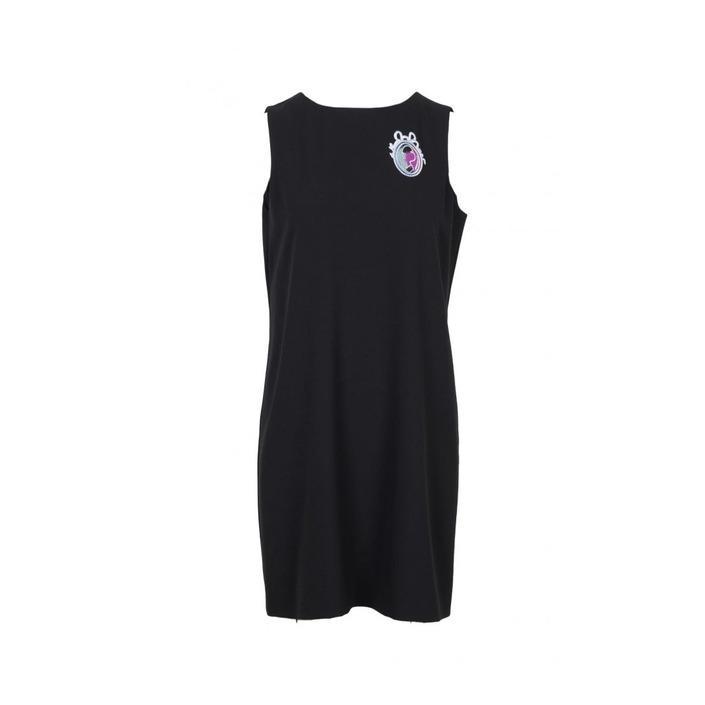 Boutique Moschino Women's Dress Black 171572 - black 42