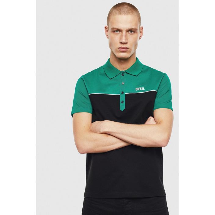 Diesel Men's Polo Shirt Various Colours 283915 - green L