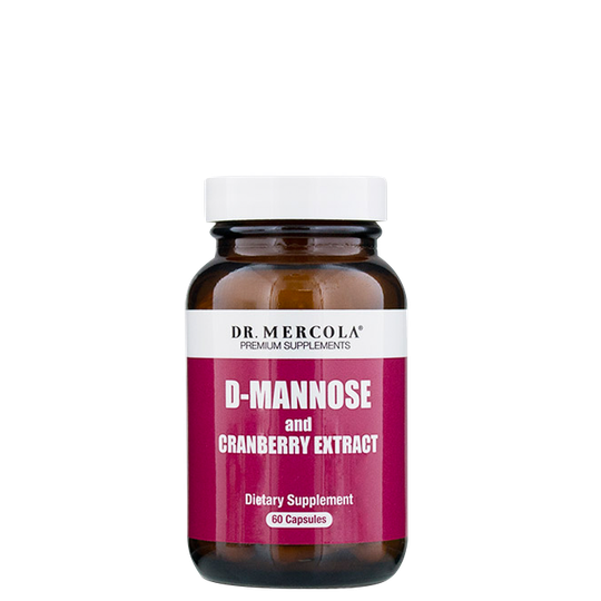 D-Mannose, 60 kapslar